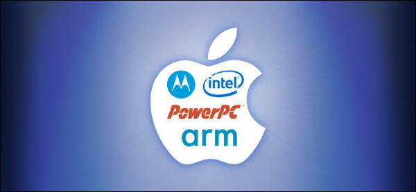 Apple CPU logos